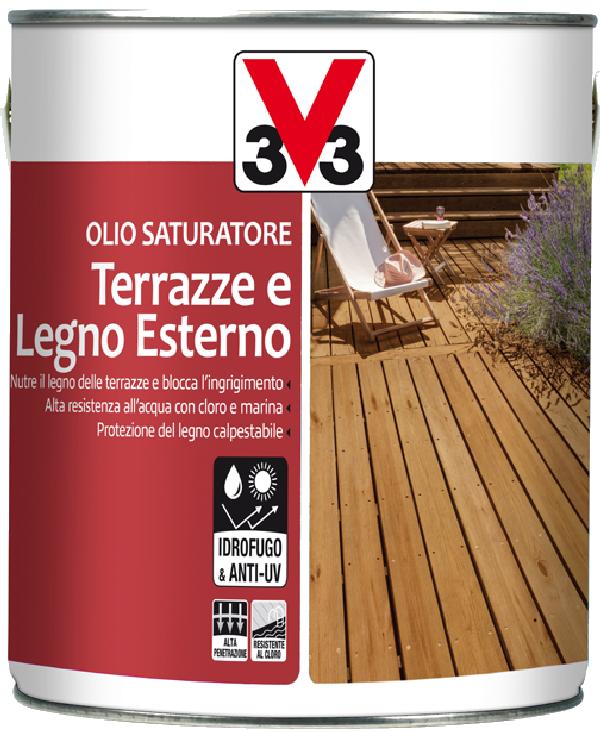 Olio per terrazze e legno esterno