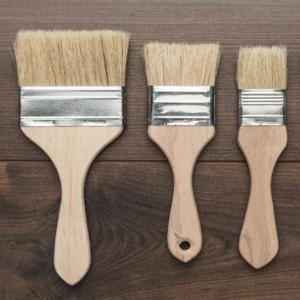 GLI STRUMENTI: Il pennello, quale scegliere?