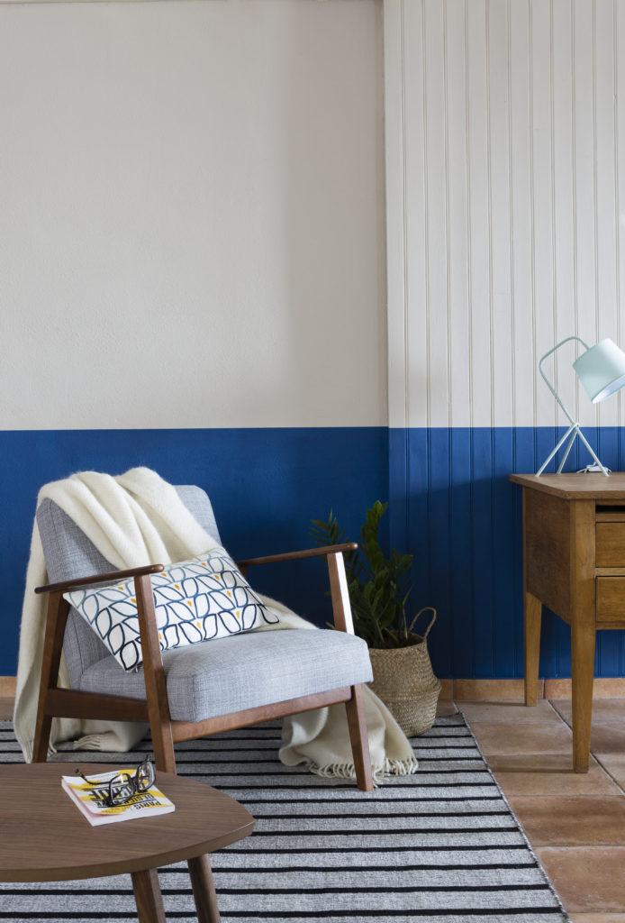 blu e bianco relax